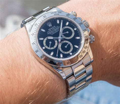 Rolex Daytona 116520 In Steel With Black Dial Watch Review