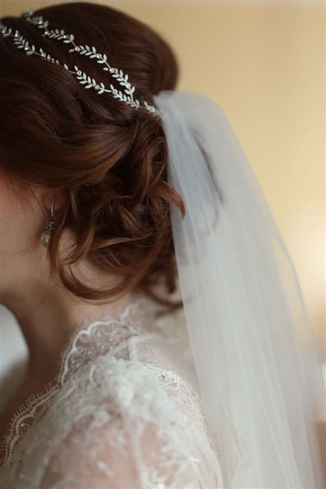 25 Best Ideas About Headband Veil On Pinterest Veil
