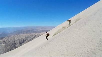Sand Skiing Peru Giphy Gifs Tweet