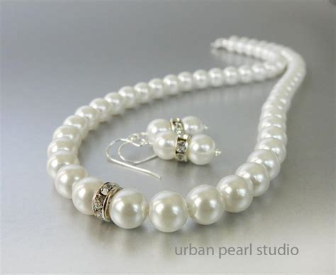 Bridesmaids Jewelry Sets, Pearl Earrings And Necklace Set, Wedding Pearl Jewelry #2560668 Jewellery Set Under 100 Christian Dior Costume Jewelry Necklace Bridesmaid Rose Gold With Maang Tikka Online Hd Images Store San Antonio Mens Ring Box Stores South Africa