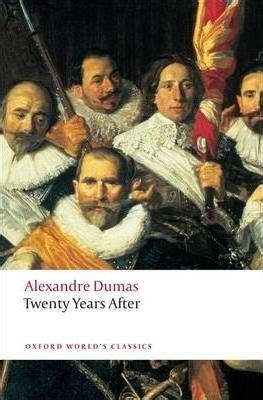 Twenty Years After  Alexandre Dumas 9780199537266