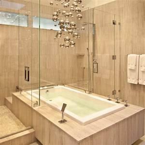 Badewanne Mit Dusche Integriert : badewanne mit duschzone tolle beispiele ~ Markanthonyermac.com Haus und Dekorationen