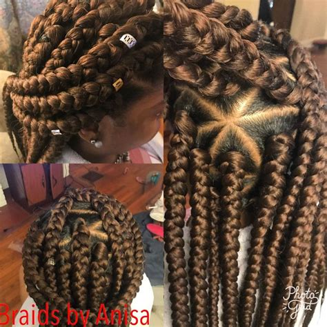 triangle part jumbo box braids box braids   box