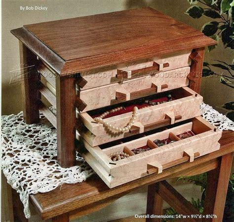 Jewelry Box Plans • Woodarchivist