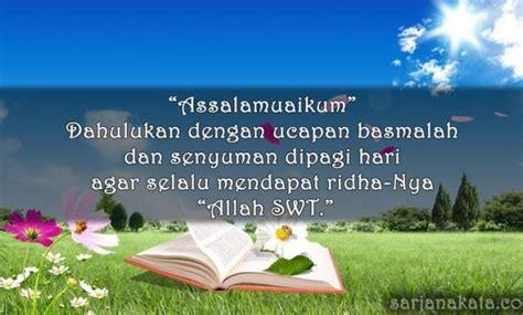kata kata ucapan selamat pagi islami romantis lucu  menginspirasi sarjana kata