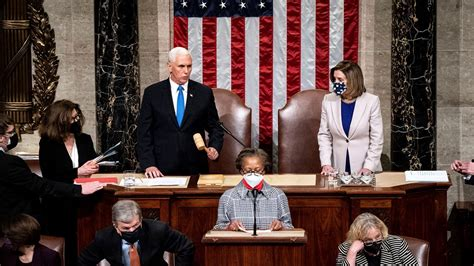 WATCH LIVE: Congress resumes Electoral College count ...