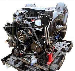 New Mercruiser 5 7l 350 Mag Mpi Complete Engine With Catalyst Manifolds