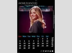 Fan Calendar 2018 JACKIE EVANCHO WORLD