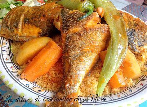 poissons cuisine recette du couscous tunisien au poisson blogs de cuisine