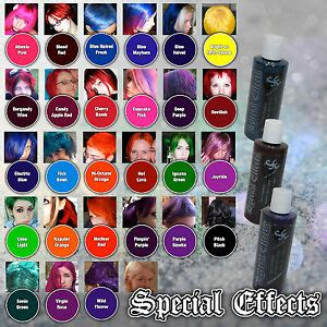 special effects semi permanent vegan hair dye color  oz