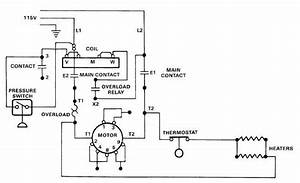 Electric Motor Controls Wiring Diagram
