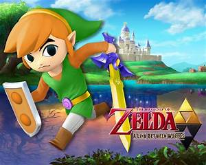 A Link Between Worlds Toon Link Super Smash Bros For