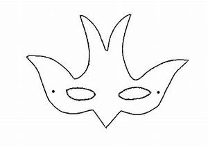 Printable Bird Mask Template | myideasbedroom.com