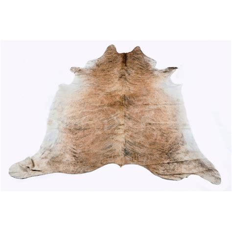 Cowhide Rugs Sydney - medium brindle cowhide rug temple webster