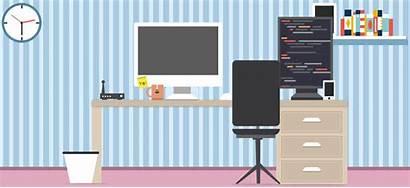 Web Automation Testing Development Developer Animated Workspace