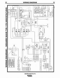 Wiring Diagram  Square Wave Tig 175