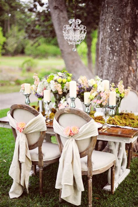 shabby chic wedding reception inspiration of the day b lovely events