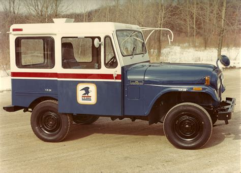 jeep mail van special delivery from jeep postal vehicles the jeep blog