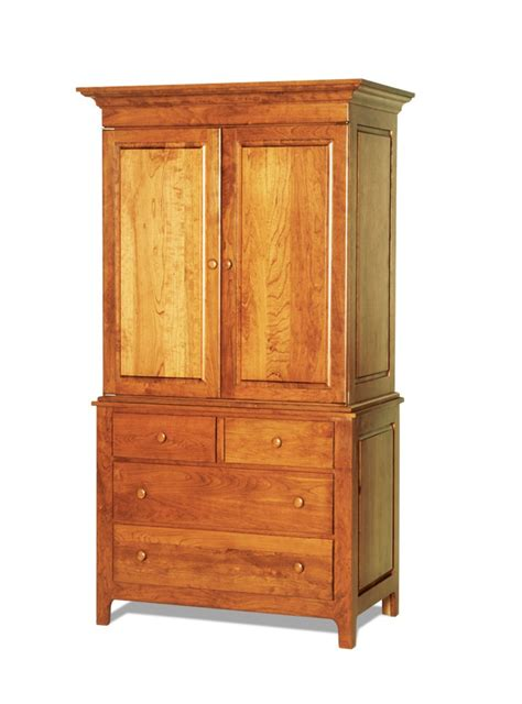 shaker armoire plans  woodworking