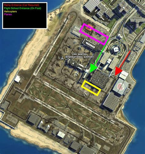 Helicopter Location In Gta 5 And Gta Online