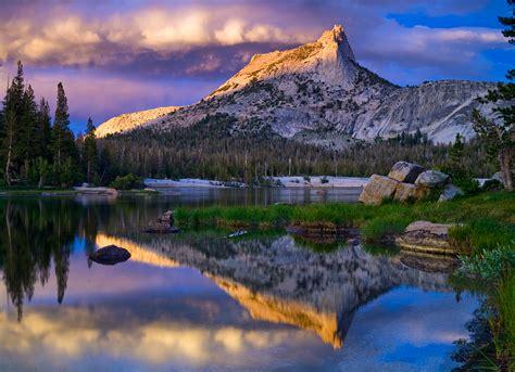Cathedral Peak Yosemite Mariposa County California I