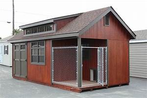 mccarte 20 x 10 garden shed in singapore With storage shed with dog kennel