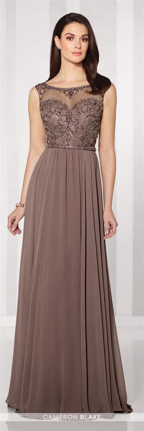 Cameron Blake 216689 Mother Of The Bride Sleeveless A Line