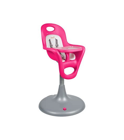 boon flair high chair pink boon flair pedestal highchair with pneumatic lift pink