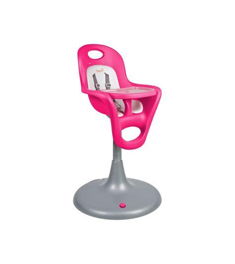 Boon Flair Pedestal Highchair With Pneumatic Lift Pink
