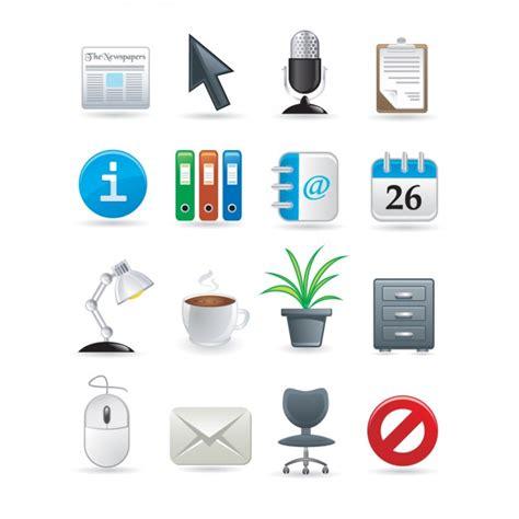 telecharger bureau icônes bureau collection télécharger des vecteurs