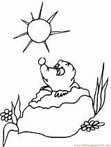 Groundhog Coloring Prairie Gopher Dog Groundhogs Sheets Printable Patterns Embroidery Clipart Activity Cartoon Weather Winter February Bestcoloringpagesforkids Happy Printables Mazes sketch template