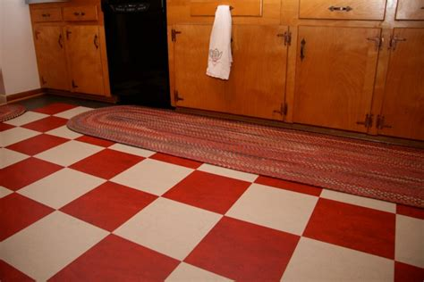 checkered floor car interior design