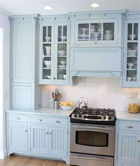 blue kitchen cabinets for 25 best ideas about freestanding oven on 7939