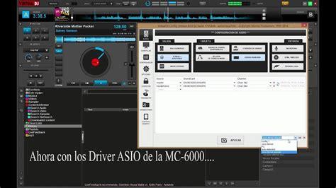 Problema con ASIO driver de la DENON MC-6000 en VirtualDj8