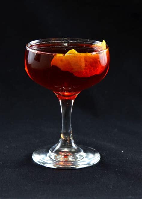 boulevardier cocktail tuxedo