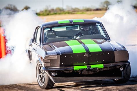 Mustang Electric Car by Ford Mustang Electric Drag Car Does 0 To 60 Mph 2