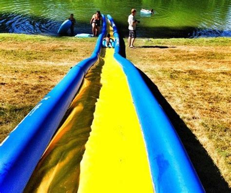 backyard water slide world s backyard water slide for