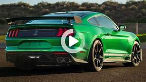 $1.1 million 2020 Ford Mustang Shelby GT500 is very green machine in 2020 | Ford mustang shelby ...
