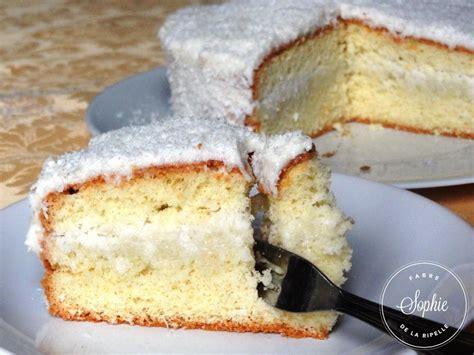 cuisiner un mont d or gâteau blanc noix de coco la tendresse en cuisine