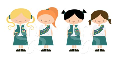 girl scout logo clipart    girl scout