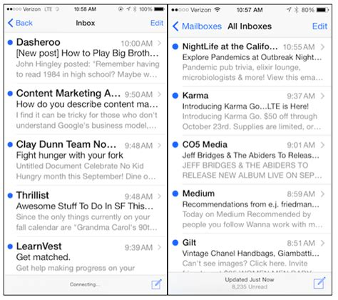 iphone email 3 ways the iphone 6 affects your emails and what to do