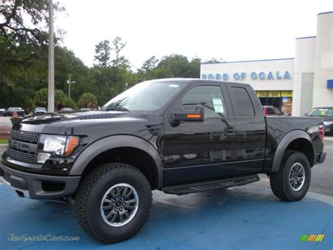 2010 Ford F150 SVT Raptor SuperCab 4x4 in Tuxedo Black