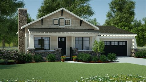 plan  simply simple  story bungalow bungalow house plans small bungalow house