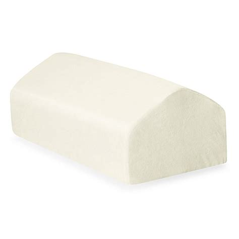 knee wedge pillow buy contour 174 kneezup leg wedge pillow from bed bath beyond