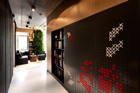 decorations for home interior integrated green wall at office of yakusha design