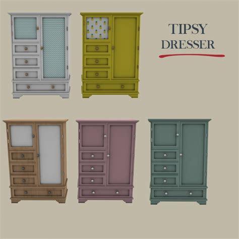 tipsy dresser  leo sims sims  updates