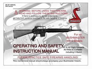 M16    M4   Ar-15 Manuals