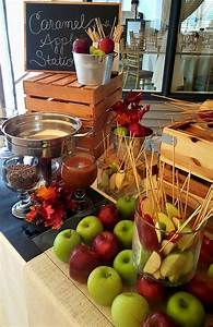fun interactive food station for your weddings fall food With fall wedding food ideas