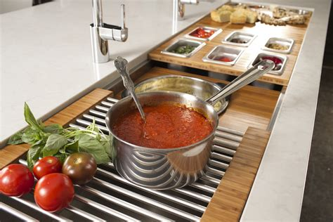 hideaway pizza kitchen island everything and the galley sink snob essentials 7030