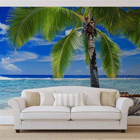 Wall Mural Beach Tropical Xxl Photo Wallpaper (578dc) Ebay